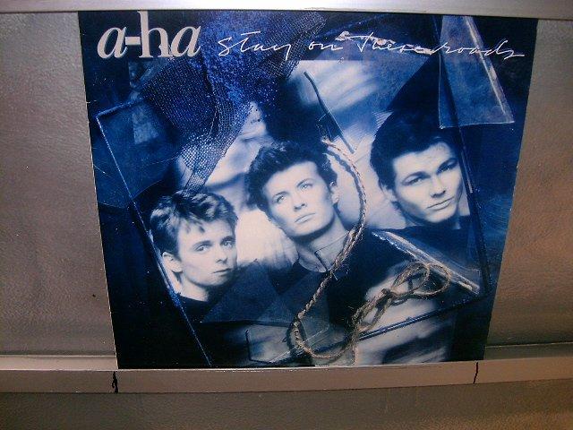 A-HA stay on theses roads LP 1988 POP SEMI-NOVO MUITO RARO VINIL