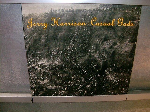 JERRY HARRISON casual gods LP 1988 POP SEMI-NOVO MUITO RARO VINIL