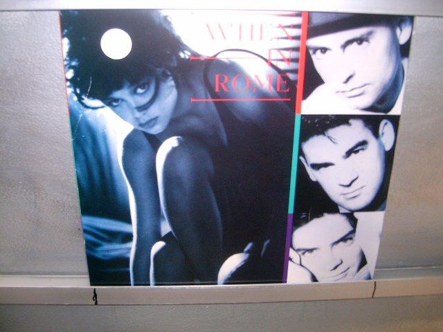 WHEN IN ROME when in rome LP 1988 ALTERNATIVO SEMI-NOVO MUITO RARO VINIL