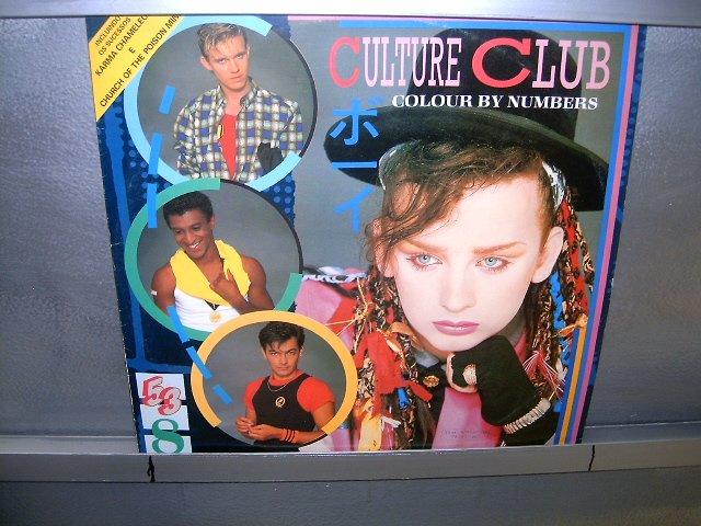 CULTURE CLUB colour by numbers LP 1984 NEW WAVE EXCELENTE MUITO RARO VINIL