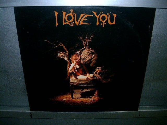 I LOVE YOU i love you LP 1991 ALTERNATIVO SEMI-NOVO MUITO RARO VINIL