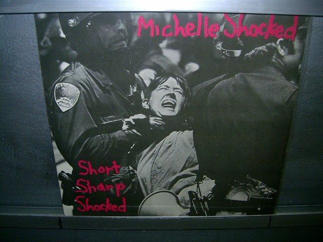 MICHELLE SHOCKED short sharp shocked LP 1988 NEW WAVE SEMI-NOVO MUITO RARO VINIL