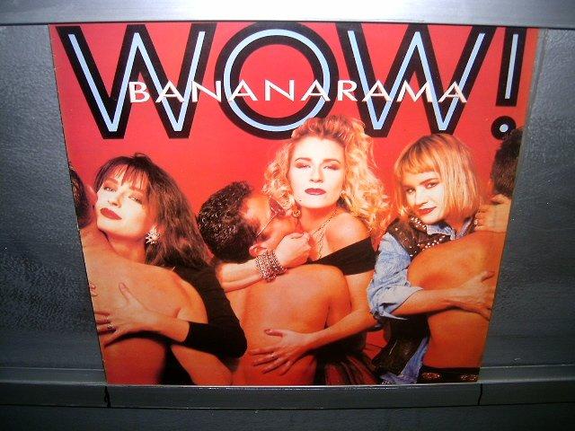 BANANARAMA wow! LP 1987 POP SEMI-NOVO MUITO RARO VINIL