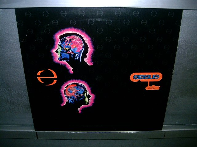 ERASURE chorus LP 1991 SYNTH POP SEMI-NOVO MUITO RARO VINIL