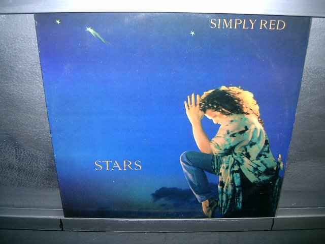 SIMPLY RED stars LP 1991 POP MUITO RARO VINIL