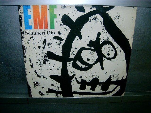 EMF shubert dip LP 1991 POP SEMI-NOVO MUITO RARO VINIL