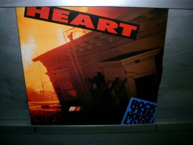 HEART rock the house live LP 1991 POP/HARD ROCK EXCELENTE (MUITO RARO VINIL