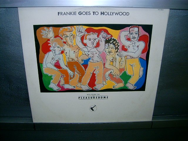 FRANKIE GOES TO HOLLYWOOD welcome to the pleasuredome 2LP 1985 ROCK 80'S SEMI-NOVO MUITO RARO VINIL