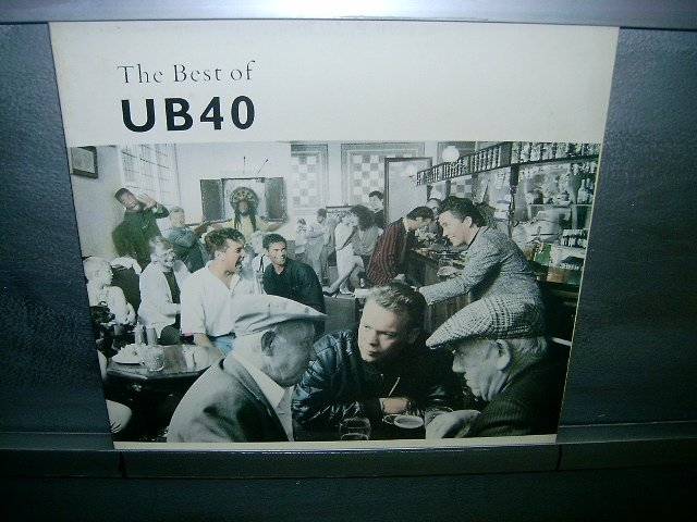 UB 40 greatest hits volume 1 LP 1990 POP SEMI-NOVO MUITO RARO VINIL