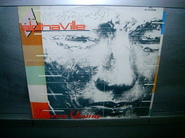 ALPHAVILLE forever young LP 1985 SYNTH POP MUITO RARO VINIL