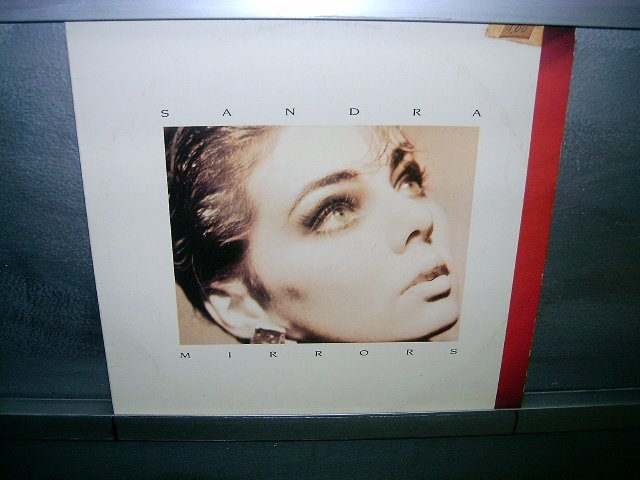 SANDRA mirros LP 1986 EURO POP*