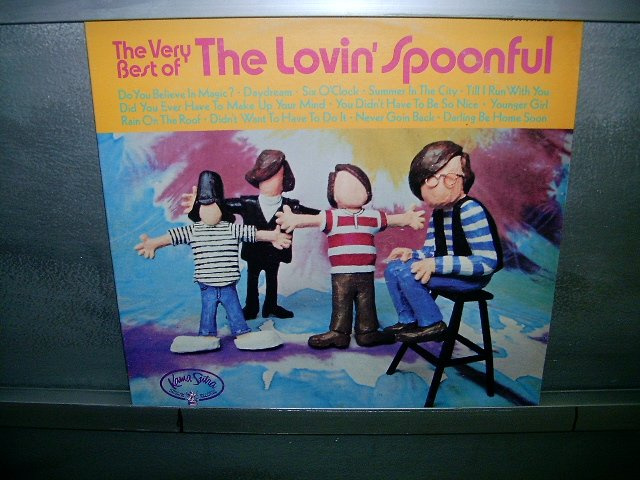 THE LOVIN'SPOONFUL the very best of LP 60S ROCK IMPORTADO EXCELENTE MUITO RARO VINIL