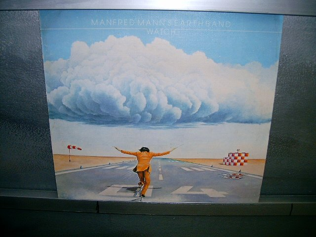 MANFRED MANN'S EARTH BAND watch LP 1978 ROCK MUITO RARO VINIL