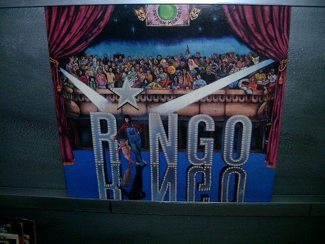 RINGO STARR ringo LP 1973 ROCK**
