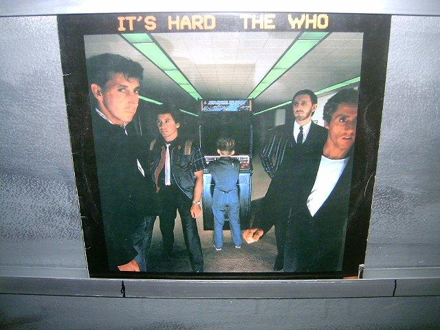 THE WHO it's hard LP 1982 ROCK SEMI-NOVO MUITO RARO VINIL