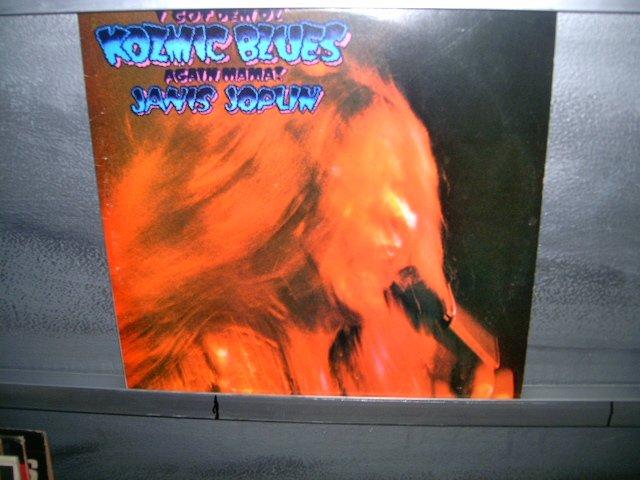 JANIS JOPLIN i got dem ol'kozmic blues again in mama! LP 1971 ROCK SEMI-NOVO MUITO RARO VINIL