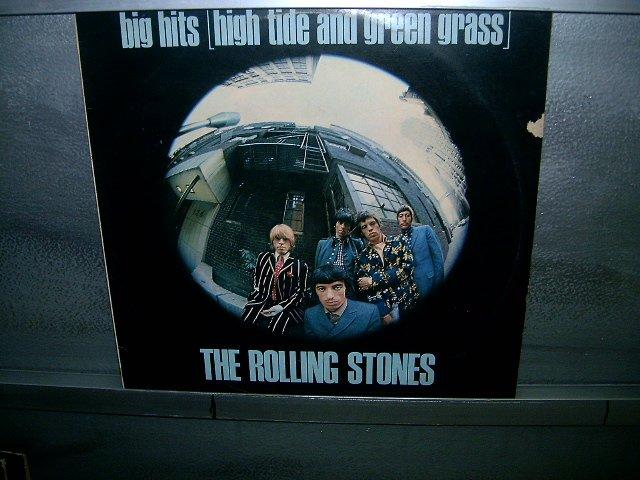 THE ROLLING STONES big hits (high tide & green grass) LP 1966 ROCK MUITO RARO VINIL