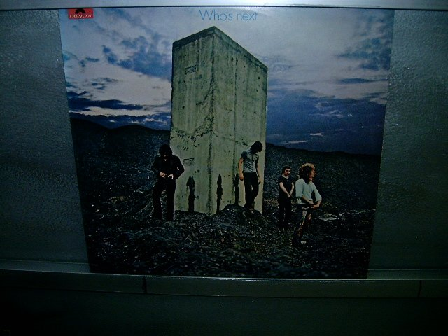 THE WHO who's next LP 1980 LP SEMI-NOVO MUITO RARO VINIL
