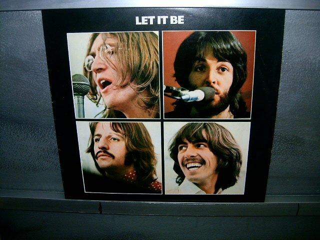THE BEATLES let it be LP 1970 ROCK MUITO RARO VINIL