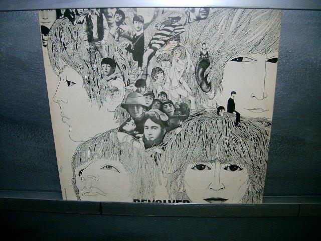 THE BEATLES revolver LP 1966 ROCK**
