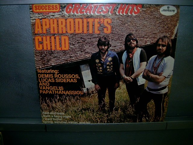 APHRODITE'S CHILD greatest hits LP 1971 ROCK**