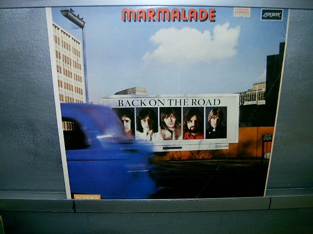 MARMALADE back on the road LP 1981 ROCK SEMI-NOVO MUITO RARO VINIL
