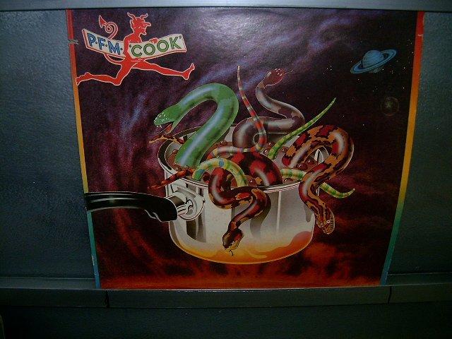 PREMIATTA FORNERIA MARCONI p.f.m. coOK LP 1974 ROCK MUITO RARO VINIL
