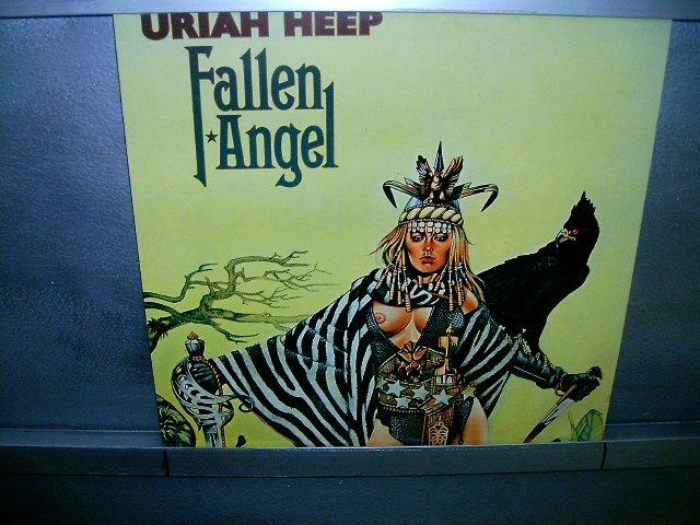 URIAH HEEP fallen angel LP 1978 ROCK**