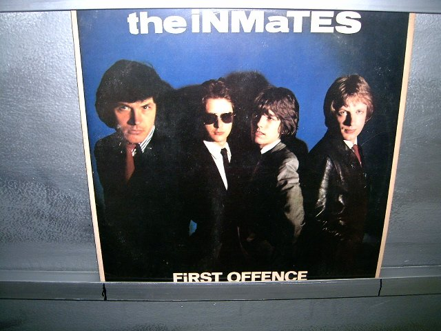 THE INMATES first offence LP 1980 ROCK**