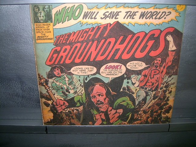 GROUNDHOGS Who Will Save The World? LP 197? ROCK MUITO RARO VINIL