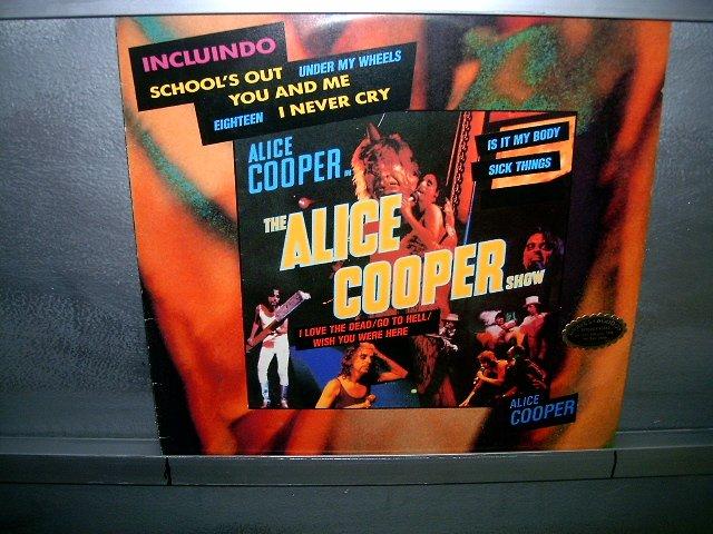 ALICE COOPER the alice cooper show LP 1975 ROCK*