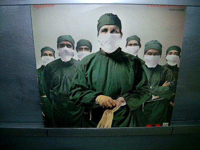 RAINBOW difficult to cure LP 1981 ROCK MUITO RARO VINIL