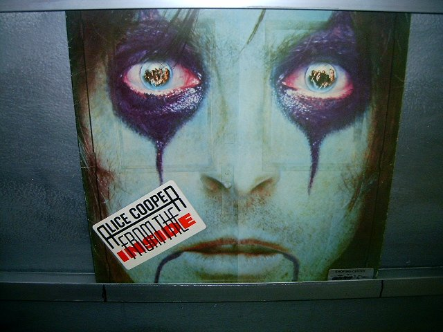 ALICE COOPER from the inside ROCK EXCELENTE MUITO RARO VINIL