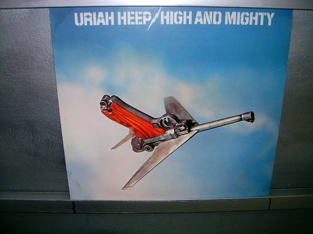 URIAH HEEP high and mighty LP 1983 ROCK EXCELENTE MUITO RARO VINIL