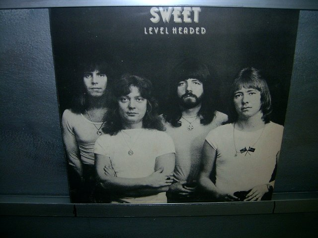 SWEET level headed LP 1978 GLAM ROCK**
