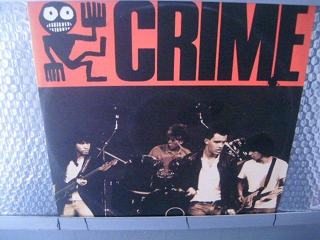 RIME crime LP 1987 ROCK BRASIL SEMI NOVO MUITO RARO VINIL