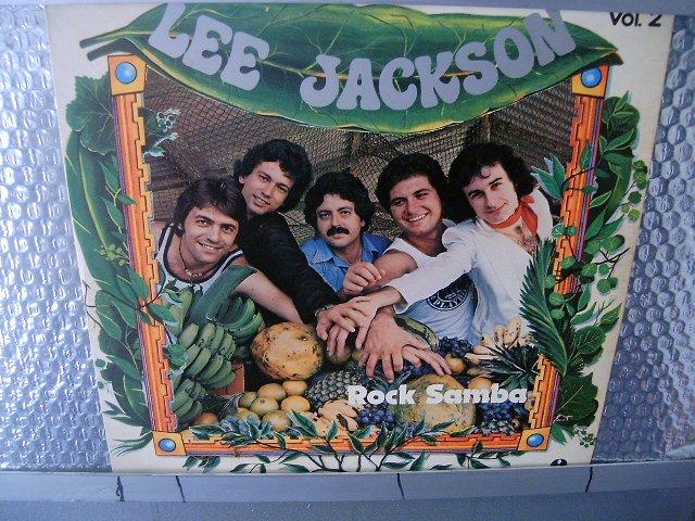 LEE JACKSON rock samba vol.2 LP 1977 SEMI NOVO MUITO RARO VINIL