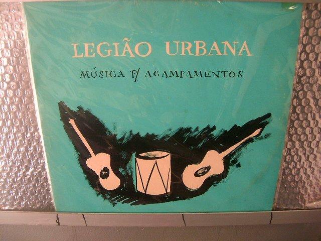 LEGI�O URBANA musica p/ acampamentos 2LP 1992 ROCK MUITO RARO VINIL