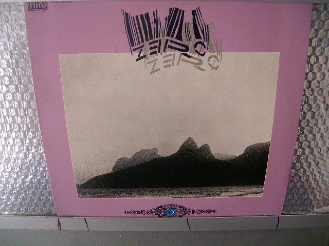 ZERO passos no escuro LP 1985 ROCK MUITO RARO VINIL