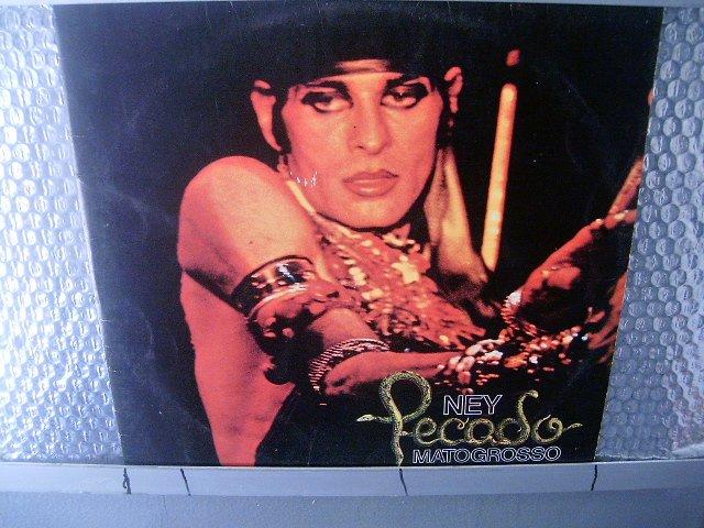 NEY MATOGROSSO pecado LP 1977 ROCK MUITO RARO VINIL
