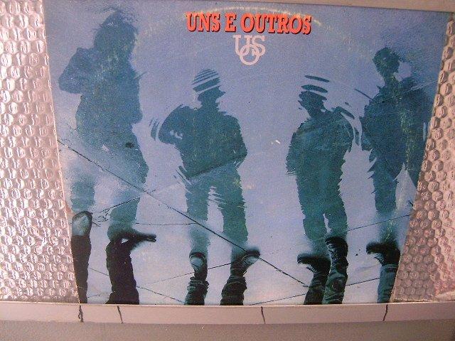 UNS E OUTROS a terceira onda LP 1990 ROCK MUITO RARO VINIL