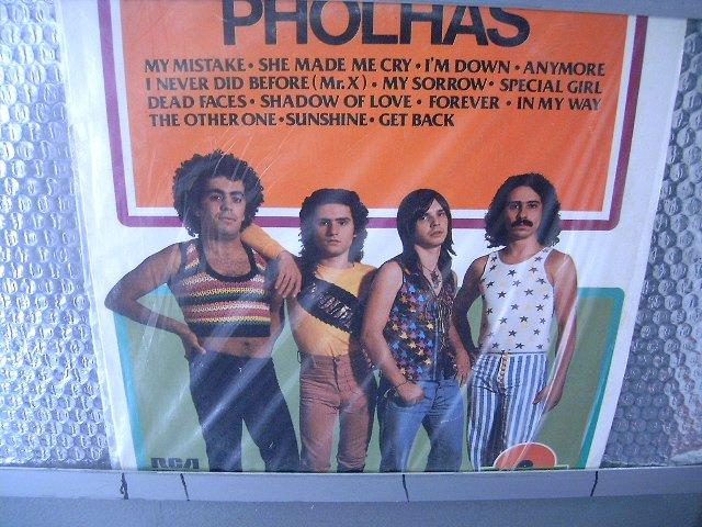 PHOLHAS disco de ouro LP 1977 ROCK MUITO RARO VINIL