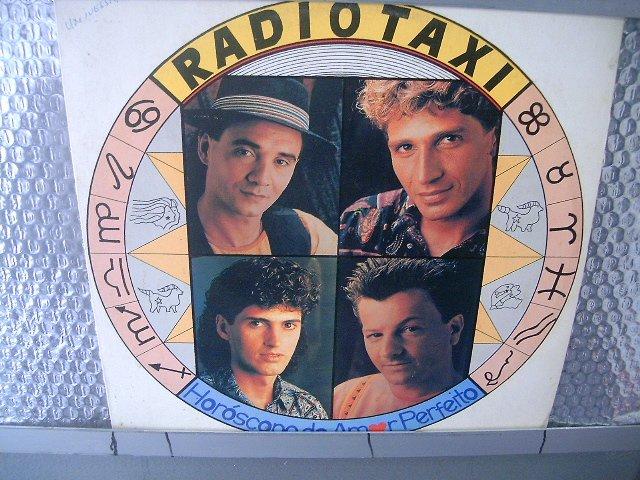 R�DIO TAXI horóscopo do amor perfeito LP 1991 ROCK MUITO RARO VINIL