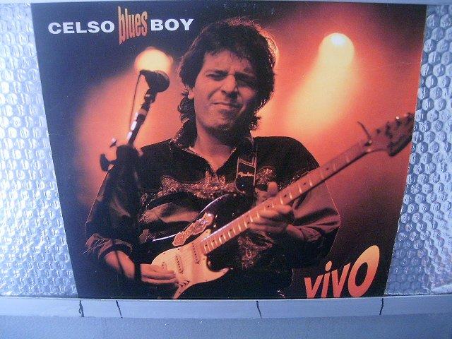 CELSO BLUES BOY vivo LP 1991 ROCK MUITO RARO VINIL