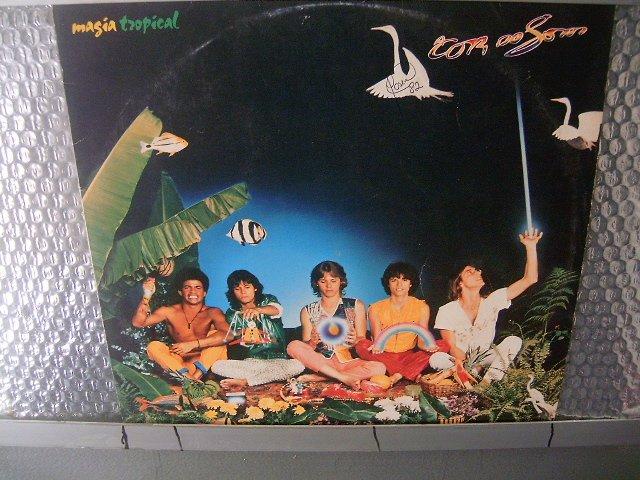 A COR DO SOM magia tropical LP 1982 ROCK MUITO RARO VINIL