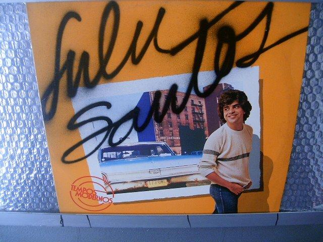 LULU SANTOS tempos modernos LP 1982 ROCK SEMI NOVO MUITO RARO VINIL