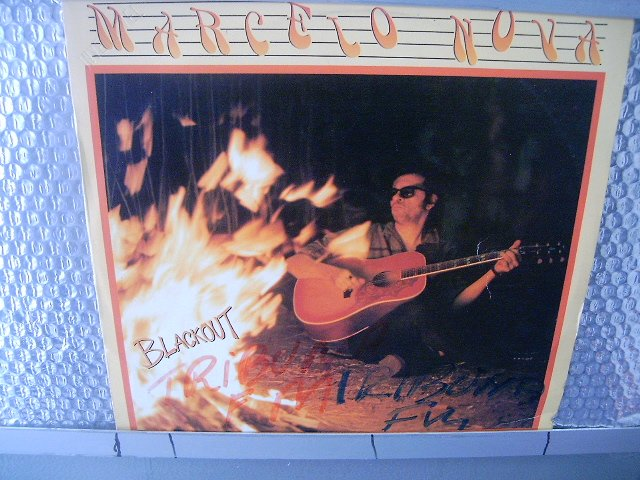 MARCELO NOVA black out LP 1991 ROCK MUITO RARO VINIL