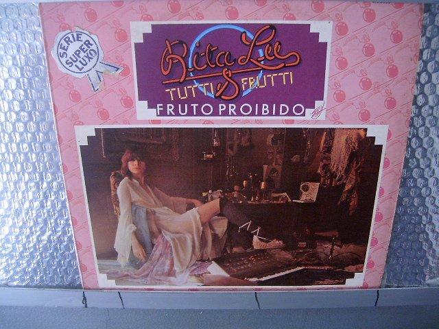 RITA LEE & TUTTI FRUTTI fruto proibido LP 1975 ROCK MUITO RARO VINIL