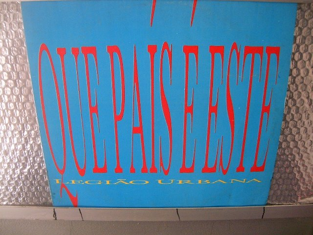 LEGI�O URBANA que país é este LP 1987 ROCK MUITO RARO VINIL