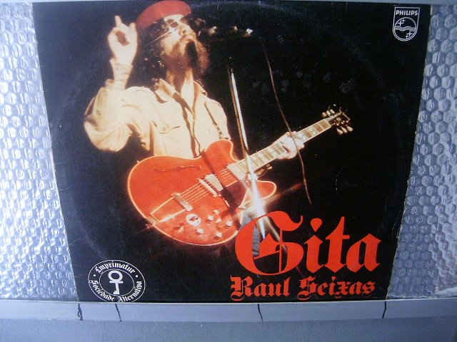 RAUL SEIXAS gitá LP 1974 ORIGINAL ROCK MUITO RARO VINIL